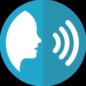 voz para la comunicación